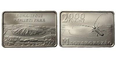 2000 Forint Duna-Ipoly Nemzeti Park 2015 BU
