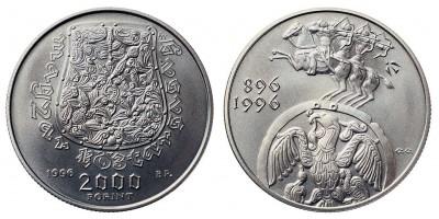 2000 Forint Honfoglalás 1996 BU