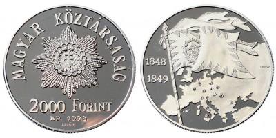 2000 Forint a szabadságharc 150.évfordulójára 1998 PP
