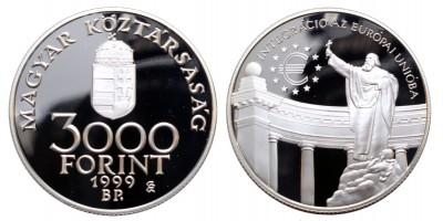 3000 Forint EURO 1999 PP
