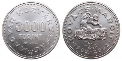 3000 Forint Kovács Margit 2002 BU