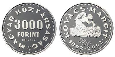 3000 Forint Kovács Margit 2002 PP
