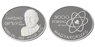 3000 Forint Wigner Jenő 2013 PP