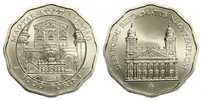 5000 Forint Debreceni Református Nagytemplom 2007 BU
