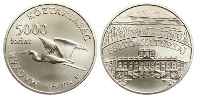 5000 forint Fertő kulturtáj 2006 BU