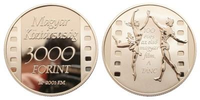 3000 Forint 100 éves a Magyar film 2001 PP