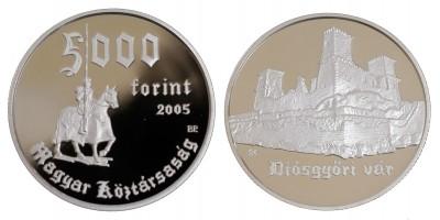 5000 Forint Diósgyőri vár 2005 PP