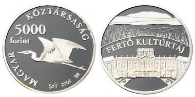 5000 forint Fertő kulturtáj 2006 PP
