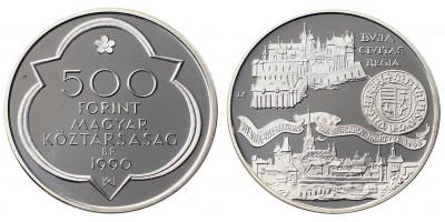500 forint Mátyás király 1990 PP