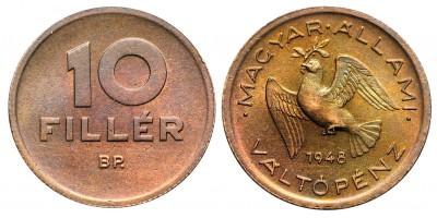 10 fillér 1948