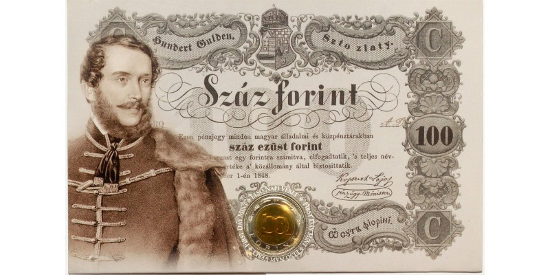 100 forint Kossuth Lajos 2002