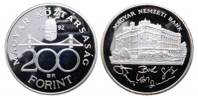 200 forint 1992 PP
