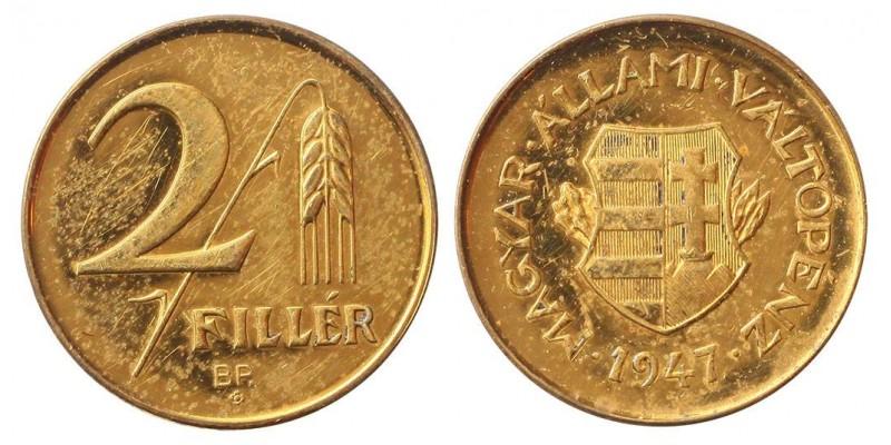 2 fillér 1947 Artex
