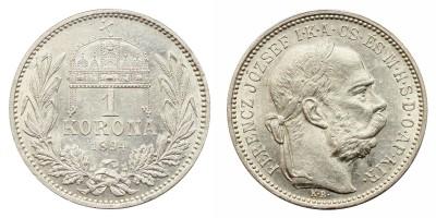 Ferenc József 1 Korona 1894
