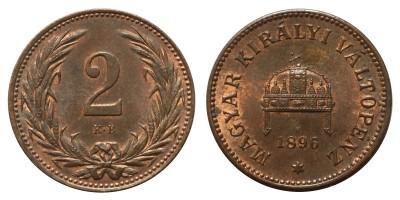 2 Fillér 1896