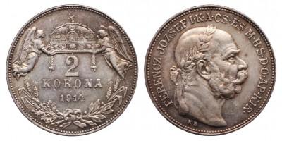 2 Korona 1914 KB