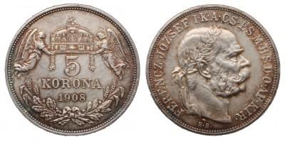 5 Korona 1908