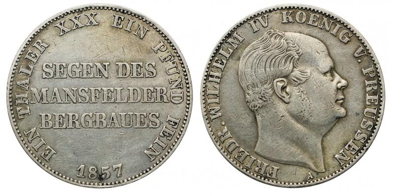 Poroszország IV.Frigyes Vilmos tallér 1857