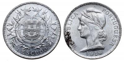 Portugália  1 escudo 1915