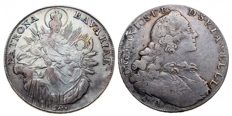 Bajorország tallér 1768 A