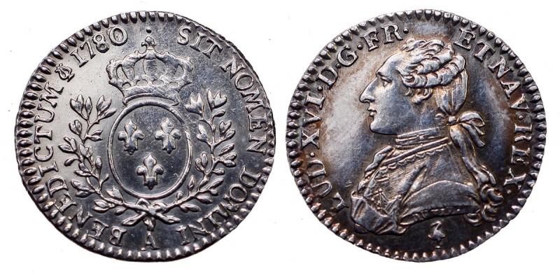 Franciaország XVI. Lajos  12 sol 1780 A Párizs