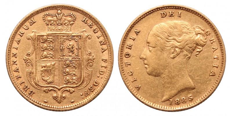 Nagy Britannia Viktória 1/2 sovereign 1885