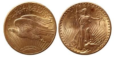 USA 20 dollár 1927