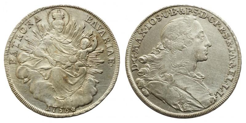 Bajorország tallér 1756