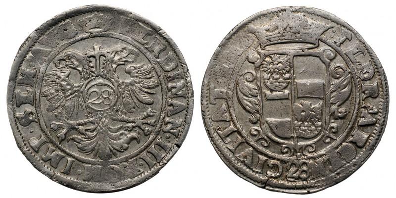 Németország Emden gulden (28 stuiver) én. III. Ferdinánd nevében