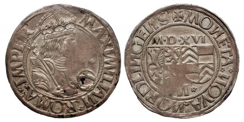 Németország Nördlingen batzen 1516 V. Károly nevében