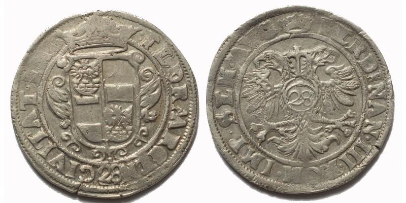 Németország Emden város gulden én.  III. Ferdinánd nevében