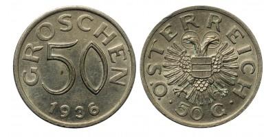 Ausztria 50 groschen 1936