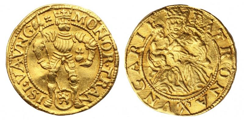 Hollandia Overijssel magyar típusú dukát 1591 körül R!
