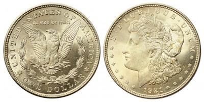 USA morgan dollar 1921