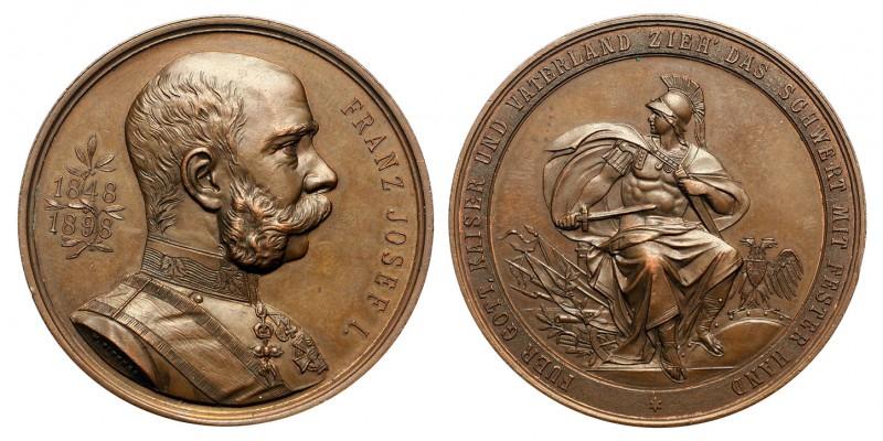 Ferenc József 50. uralkodási jubileuma 1898 emlékérem
