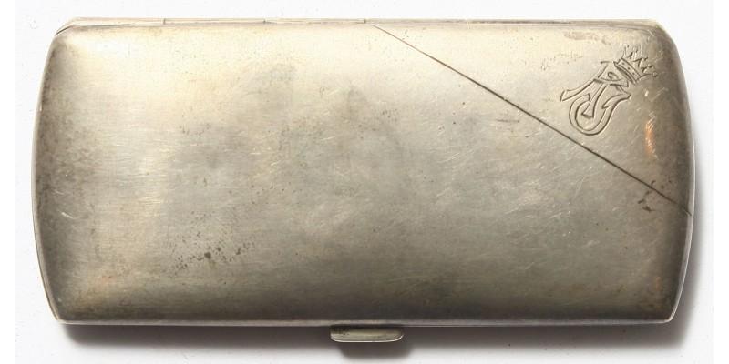 Ezüst emlék cigarettatárca 1917