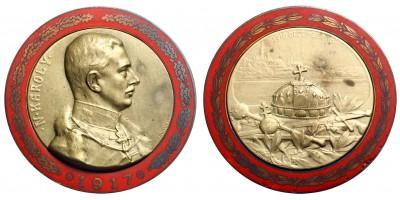 IV. Károly koronázási érem 1917