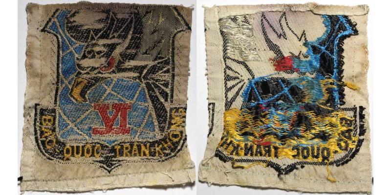 Dél-Vietnam ARVN 6. Légi Hadosztály felvarró