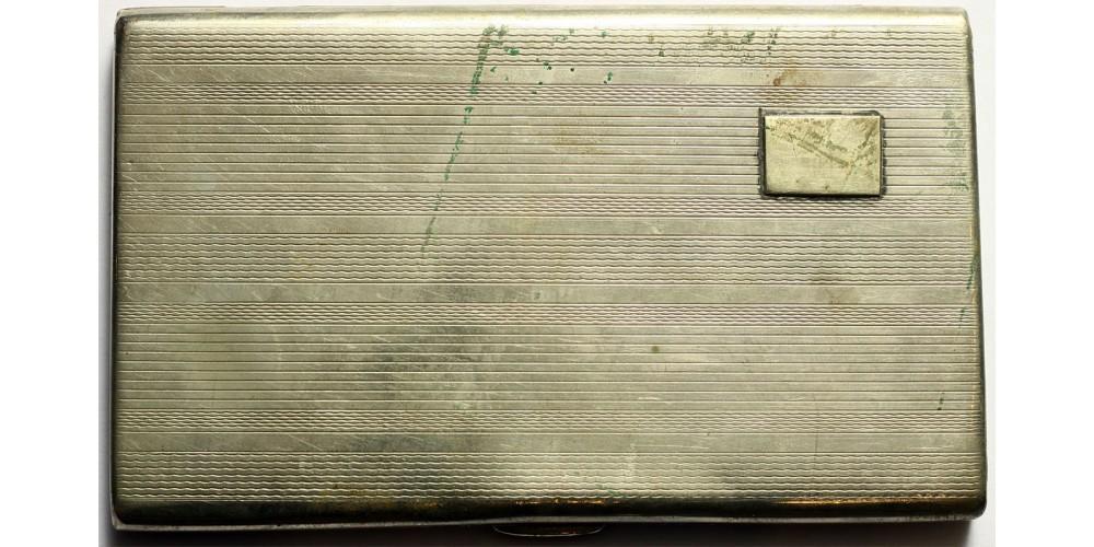 Emlék cigarettatárca 1957. március 15.