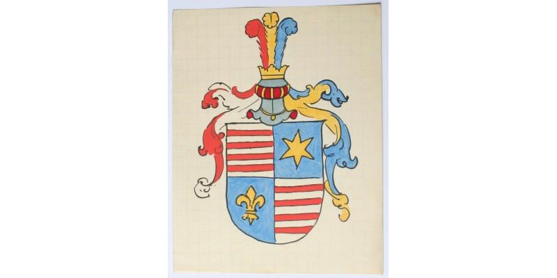 Osztrák-Magyar Monarchia nemesi címer tervezet