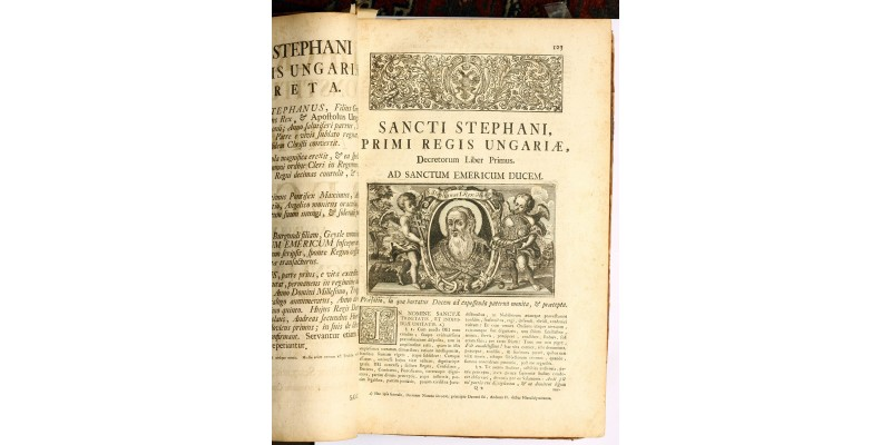 Corpus Juris Hungarici 1-2 Buda 1779 magyar uralkodók rézmetszeteivel