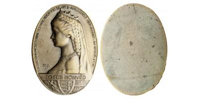 Erzsébet királyné 1. honvéd gyalogezred érem R!