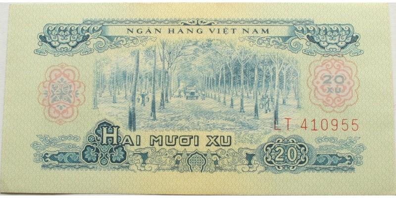 Vietnam Vietkong kiadás 20 xu 1966 (1975)