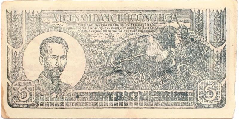 Észak-Vietnam 5 Dong én. (1948)