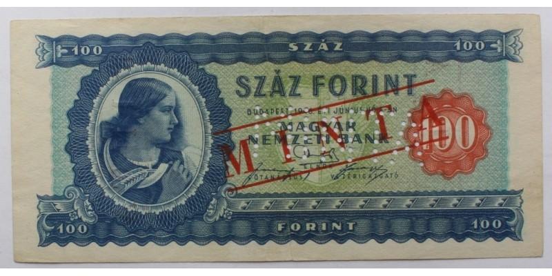 100 Forint 1946 Minta