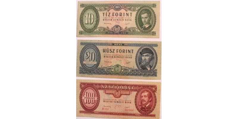 10-20-100 forint 1949