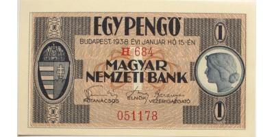1 pengő 1938