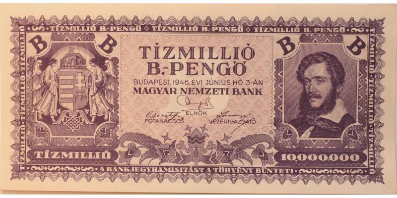 Tízmillió B-pengő 1946