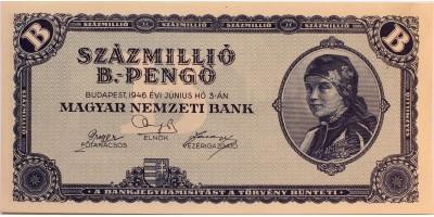 Százmillió B.-pengő 1946