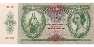10 pengő 1936 csillagos